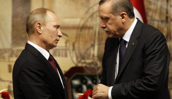 Erdoğan ile Putin arasında Halep trafiği