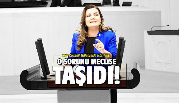Fatma Kaplan Hürriyet, o sorunu meclise taşıdı