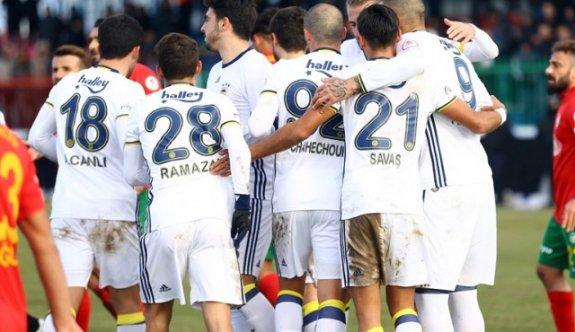 Fenerbahçe'ye Amedspor çelmesi! 1-1