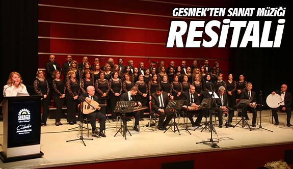 GESMEK'ten Sanat Müziği Resitali