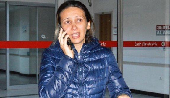 Hamile kadını darp eden saldırgan serbest