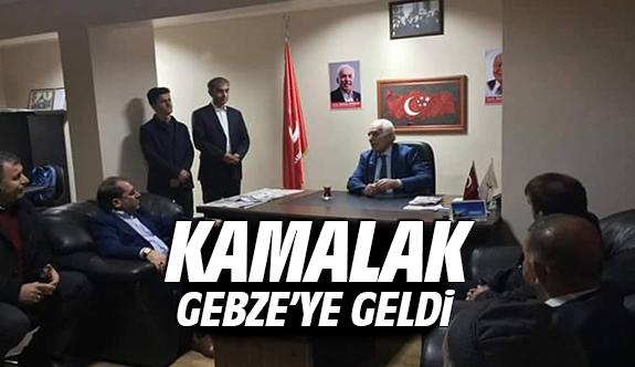 Kamalak Gebze'ye geldi