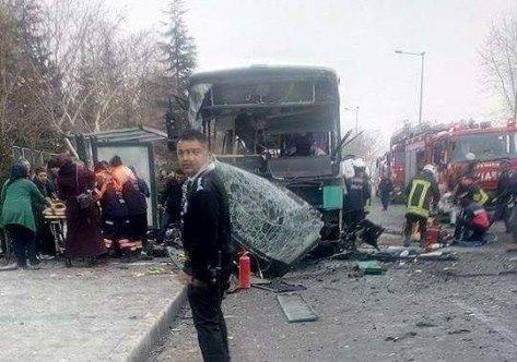 Kayseri'de patlama: Yaralılar var