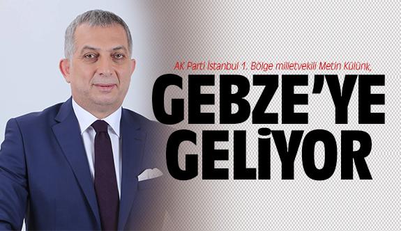 Metin Külünk, Gebze'ye geliyor