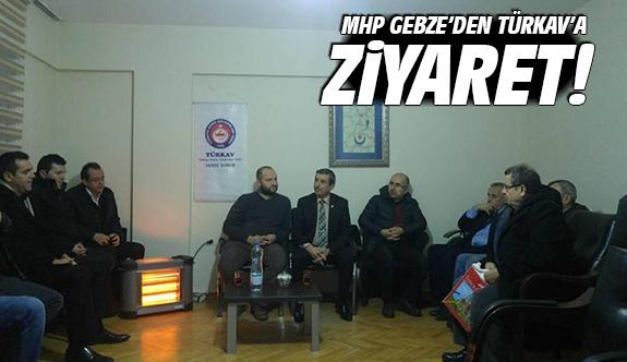 MHP Gebze'den TÜRKAV'a ziyaret!