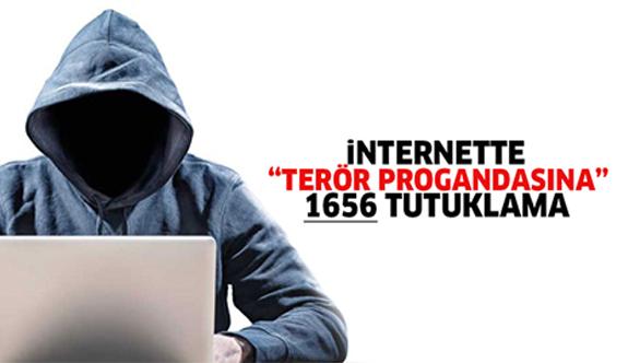 Sosyal medyada terör propagandasına 1656 tutuklama
