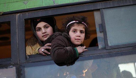 Tahliye edilen Haleplilerden Türkiye'ye teşekkür