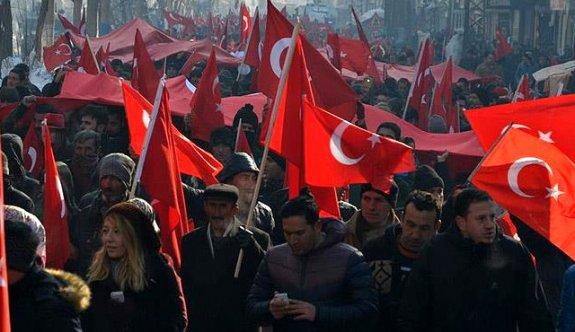 Türkiye teröre karşı tek yürek oldu