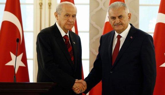Yıldırım: MHP ile görüşmeler devam edecek