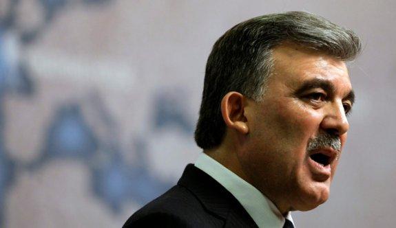 Abdullah Gül'den FETÖ yanıtı!
