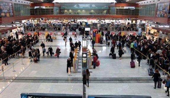 Antalya Havalimanı'nda canlı bomba paniği!