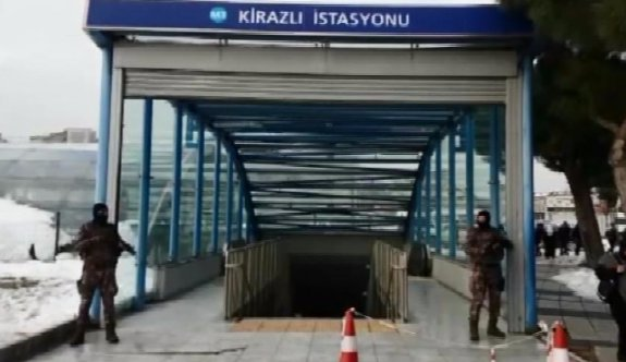 Bağcılar Metro'da 'Reina saldırganı' alarmı