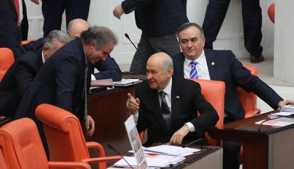 Bahçeli ve HDP'lierden sohbet