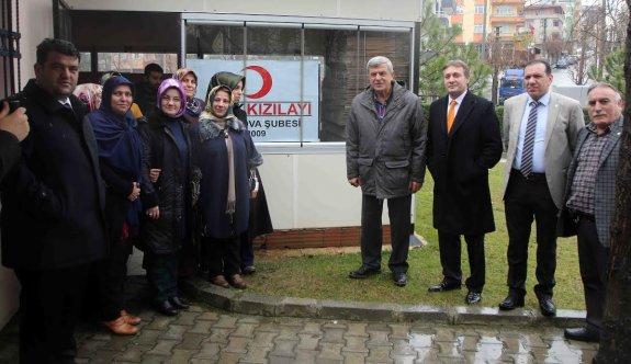 Başkan Karaosmanoğlu, ''Kan acil değil sürekli ihtiyaçtır''