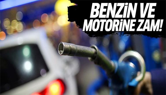 Benzin ve motorine yeniden zam