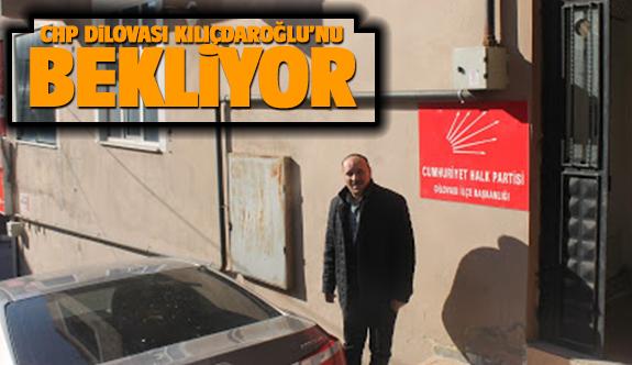 Chp Dilovası Kılıçdaroğlu'nu Bekliyor