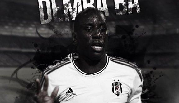 Demba Ba resmen Beşiktaş'ta