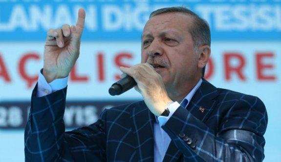 Erdoğan'dan referandum açıklaması!