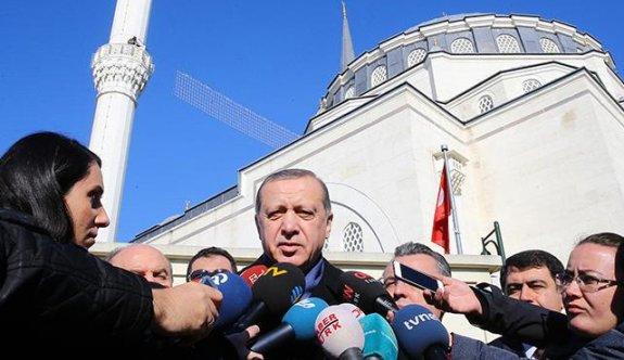 Erdoğan'dan Rumlara Kıbrıs resti!