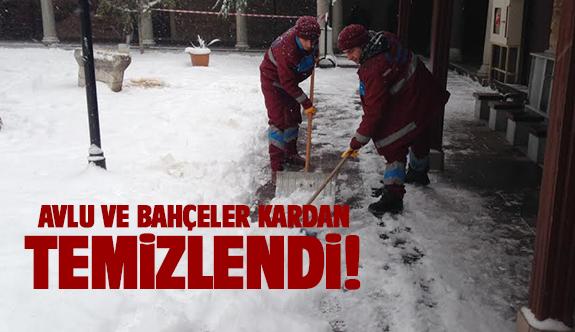 Gebze kardan temizleniyor!