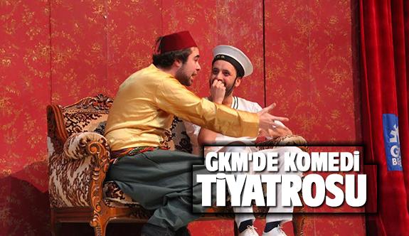 GKM'de tiyatro gösterimi