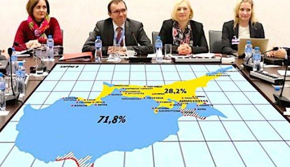 Güney Kıbrıs'ın çizdiği yeni harita basına sızdı!