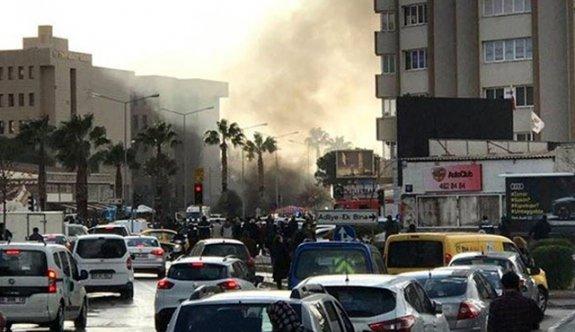 İzmir'de bombalı araçla saldırı! olay yerinden ilk görüntüler