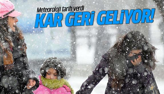 Meteoroloji uyardı! Soğuk ve yoğun kar yağışı geliyor