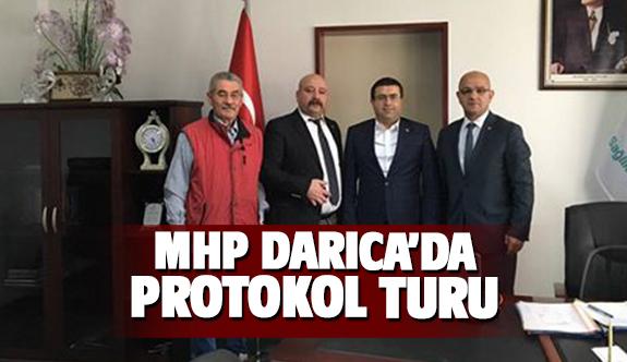 MHP Darıca'dan protokol turu