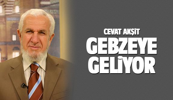 Prof. Dr. Cevat Akşit Gebze'ye geliyor
