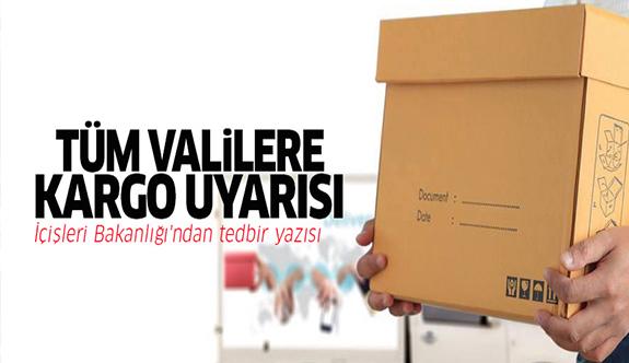 Tüm Türkiye'de kargo uyarısı