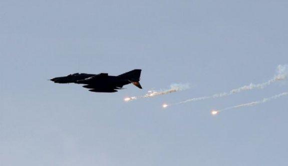 Türk Jetleri DEAŞ hedeflerini vurdu