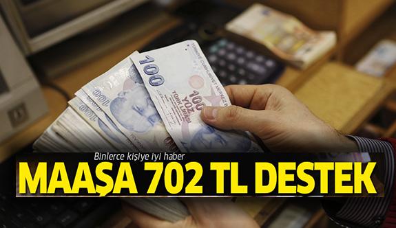 Yeni mezun maaşına 702 lira destek
