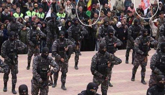 YPG'li teröristleri eğittiği yeni görüntüler ortaya çıktı!