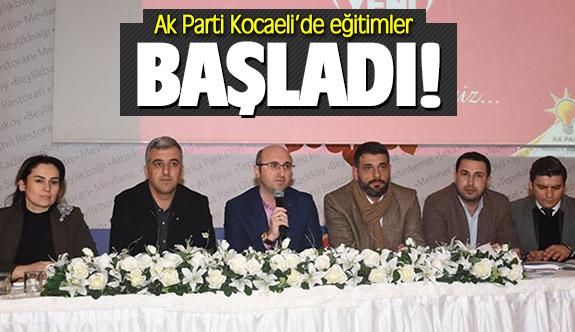 AK Parti Kocaeli'de eğitimler başladı