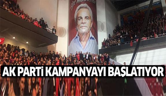 AK Parti'nin referandum kampanyası bugün başlıyor