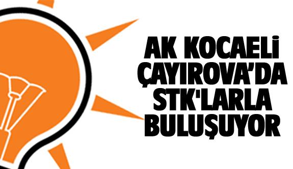 Ak Parti STK'larla Çayırova'da buluşuyor