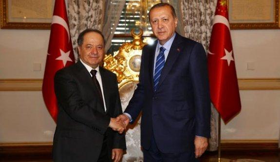Barzani-Erdoğan görüşmesinde detaylar