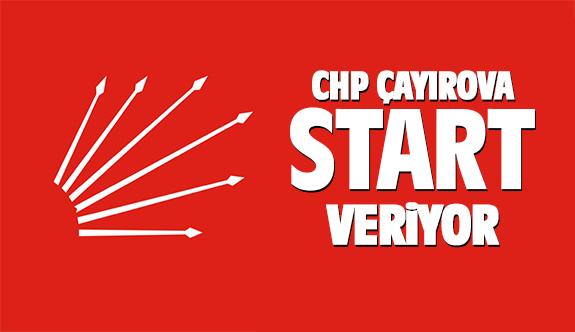 CHP Çayırova start veriyor