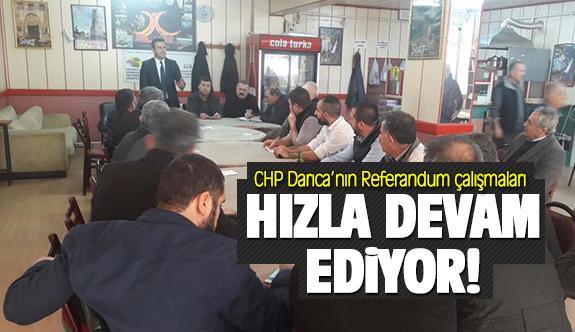 CHP Darıca'nın Referandum çalışmaları hızla devam ediyor