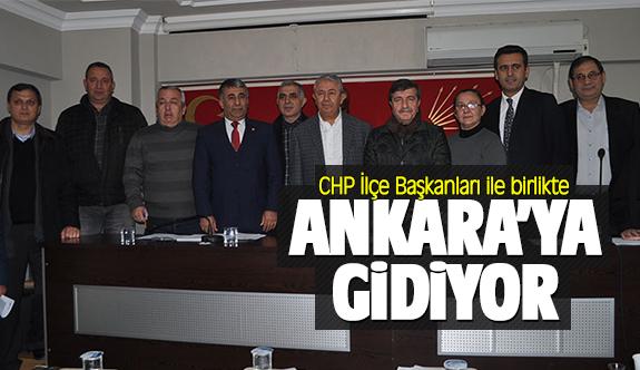 CHP heyeti Ankara'ya gidiyor