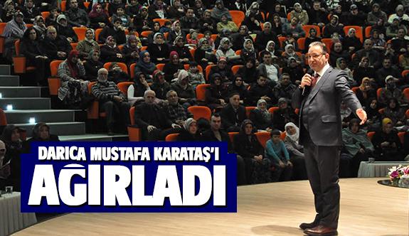 Darıcalılar Mustafa Karataş ile buluştu