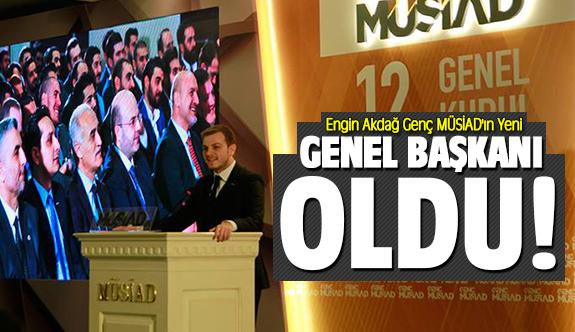 Engin Akdağ Genç MÜSİAD'ın Yeni Genel Başkanı oldu