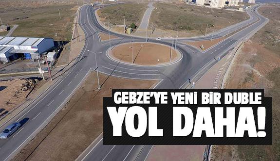 Gebze trafiğini rahatlatacak bir yol daha!