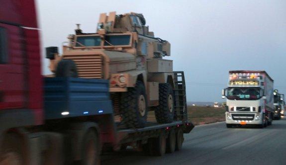 Haseke'de YPG'ye zırhlı araç sevkiyatı