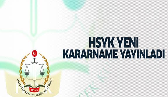 HSYK, yeni kararname yayınlandı