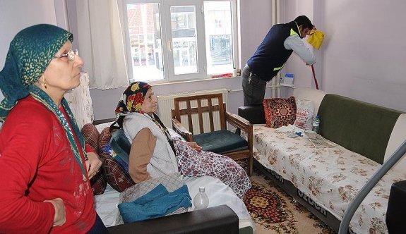 İhtiyaç sahibi vatandaşlara evlerinde temizlik hizmeti
