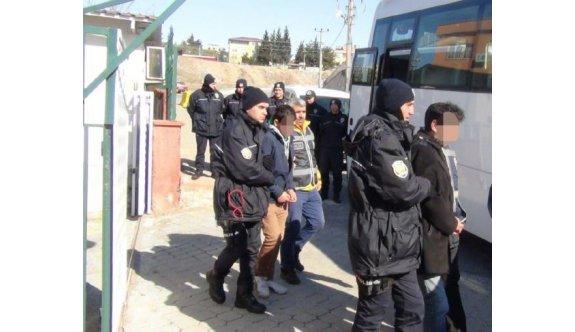 Kahramanmaraş'ta aranan 91 kişi adliyeye sevk edildi