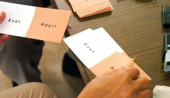 Referandum anketinde rekor 'Evet' çıktı