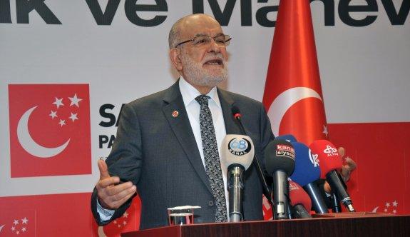 Saadet Partisi Genel Başkanı'ndan referandum tepkisi